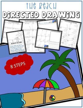 Directed Drawing - Summer BEACH