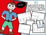 Directed Drawing - Boy