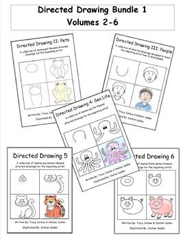 Directed Drawing Bundle 1 - Volumes 2-6