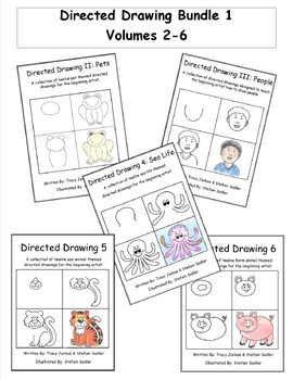 Directed Drawing Bundle 1 - Volumes 2-6