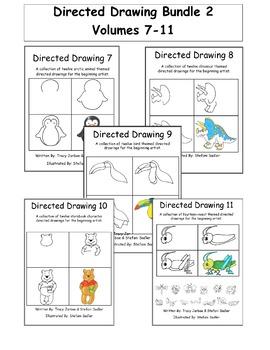 Directed Drawing Bundle 2 - Volumes 7-11