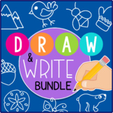 Directed Drawing Bundle: Draw & Write Holidays & Seasons D