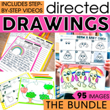 Directed Drawings Bundle   Following Directions Activity  