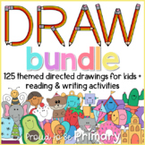 Directed Drawing Bundle of 120 Themed Drawings + Writing &