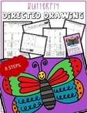 Spring Time BUTTERFLY Directed Drawing & Writing Prompts