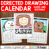 Directed Drawing Calendar - 2018 BONUS included - Directed Drawing Christmas