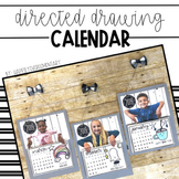 Directed Drawing Calendar