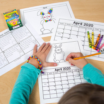 Directed Drawing Calendar Parent Gift [Includes 2018-2020 + EDITABLE pages]