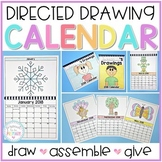Directed Drawing Calendar Parent Gift [Years 2021-2025 + EDITABLE calendar]