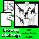 Art Lesson - Directed Drawing Challenge: Series 6 Giraffes