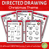 Directed Drawing - Christmas Theme