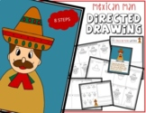 Cinco de Mayo MEXICAN MAN Directed Drawing & Writing Prompts