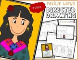 Cinco de Mayo MEXICAN WOMAN Directed Drawing & Writing Prompts