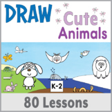 Directed Drawing - Cute Animals