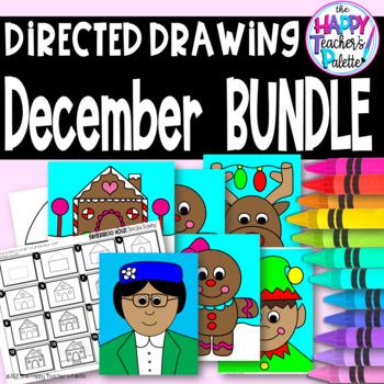 Directed Drawing ~ December BUNDLE ~