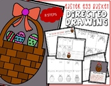 EASTER EGG BASKET Directed Drawing & Writing Prompts