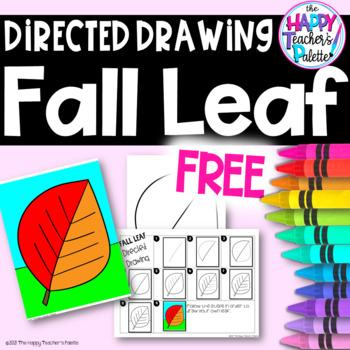 Directed Drawing ~ Fall Leaf ~ *FREEBIE*