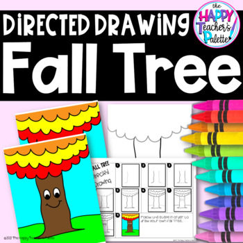 Directed Drawing ~ Fall Tree ~