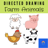 Directed Drawing: Farm Animals
