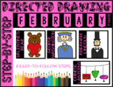 Directed Drawing - February Themed Bundle (Lincoln, Washin