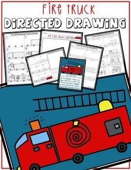 Directed Drawing - Fire truck