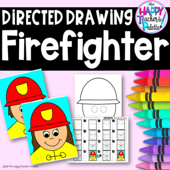 Directed Drawing ~ Firefighter ~