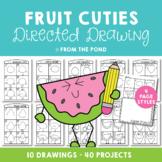 Directed Drawing {Fruit Fun Theme}