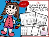 Directed Drawing - Girl