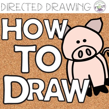 directed drawing how to draw a pig