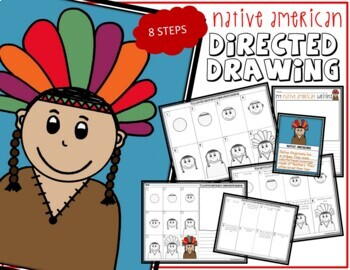 Directed Drawing - THANKSGIVING Indian