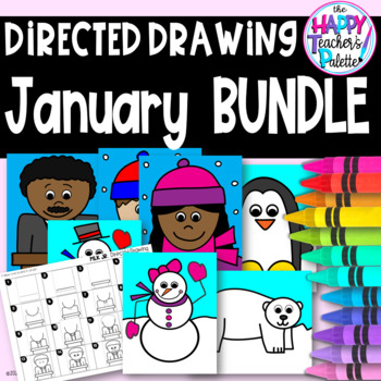Directed Drawing ~ January BUNDLE ~
