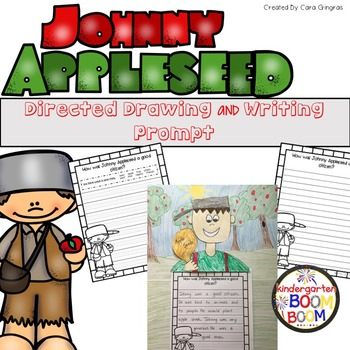 Directed Drawing - Johnny Appleseed