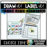 Directed Drawing & Labeling | Writing Centers | Choice Time Discovery Centers
