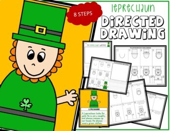Directed Drawing - St. Patrick's Day LEPRECHAUN