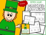 St. Patrick's Day LEPRECHAUN Directed Drawing & Writing Prompts