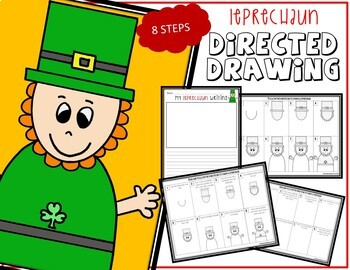 Directed Drawing - March Themed Bundle (St. Patrick's Day, Dr. Seuss' Day)