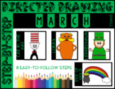 Directed Drawing - March Themed Bundle (St. Patrick's Day,