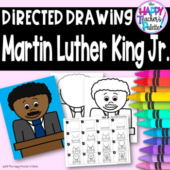 Directed Drawing ~ Martin Luther King Jr. ~
