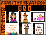 Directed Drawing - May Themed Bundle (Cinco de Mayo, Mothe