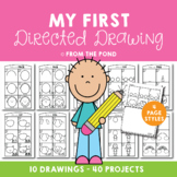 Directed Drawing {My First Directed Drawing}