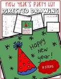 NEW YEAR'S PARTY HAT Directed Drawing & Writing Prompts