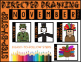 Directed Drawing - November Themed Bundle (turkey, soldier