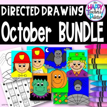 Directed Drawing ~ October BUNDLE ~