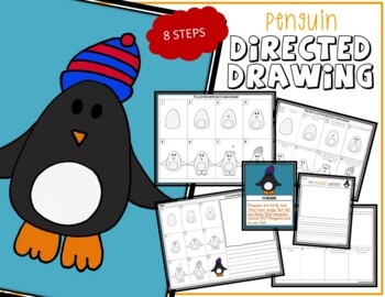 Directed Drawing - PENGUIN