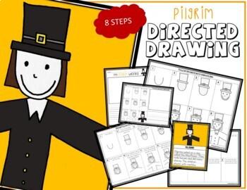 Directed Drawing - Thanksgiving PILGRIM