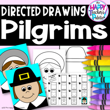 Directed Drawing ~ Pilgrim Boy and Girl ~