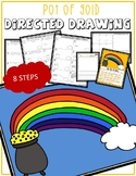 St. Patrick's Day POT OF GOLD Directed Drawing & Writing Prompts
