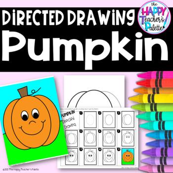 Directed Drawing ~ Pumpkin ~