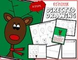 Directed Drawing - Christmas REINDEER