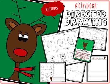 Directed Drawing - Christmas REINDEER